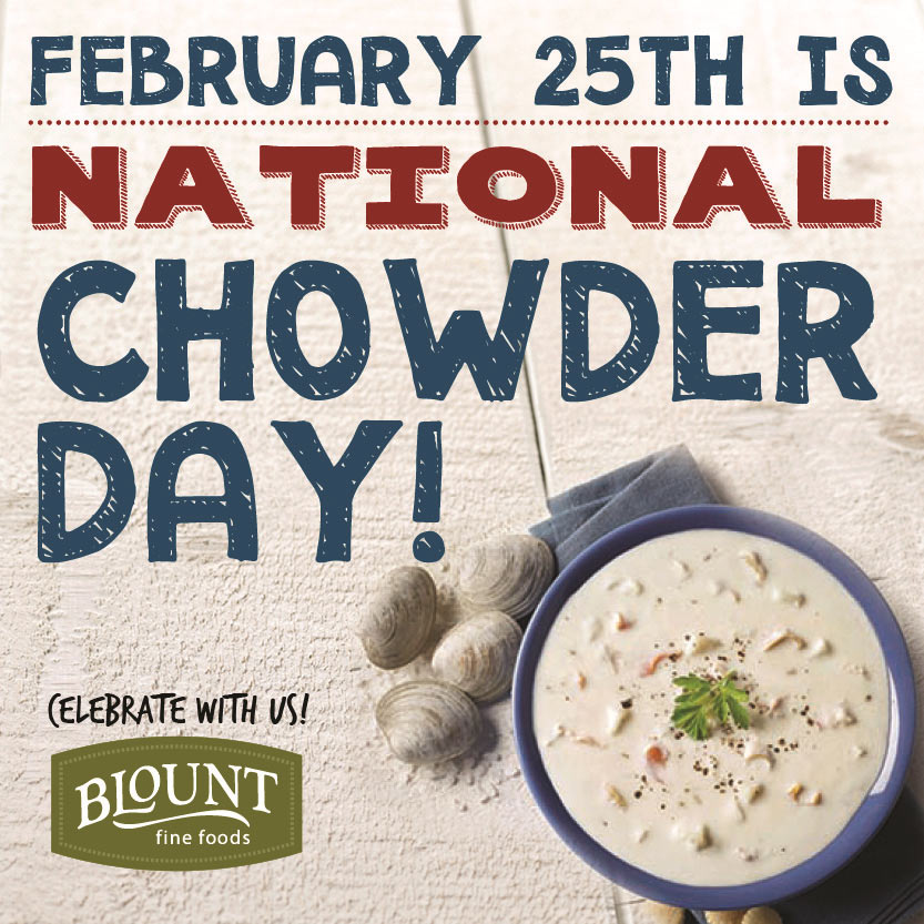 today is national clam chowder day 4