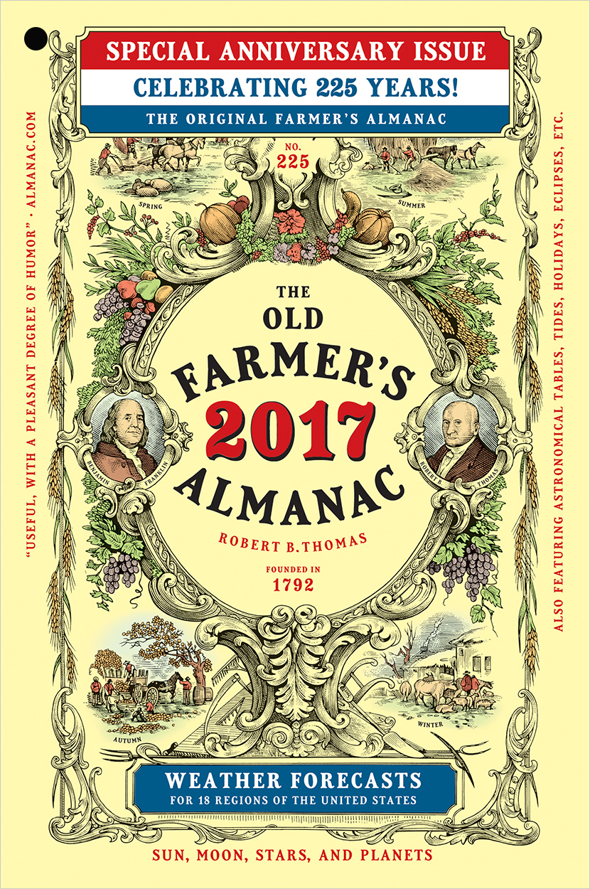 2017 Old Farmer's Almanac cover