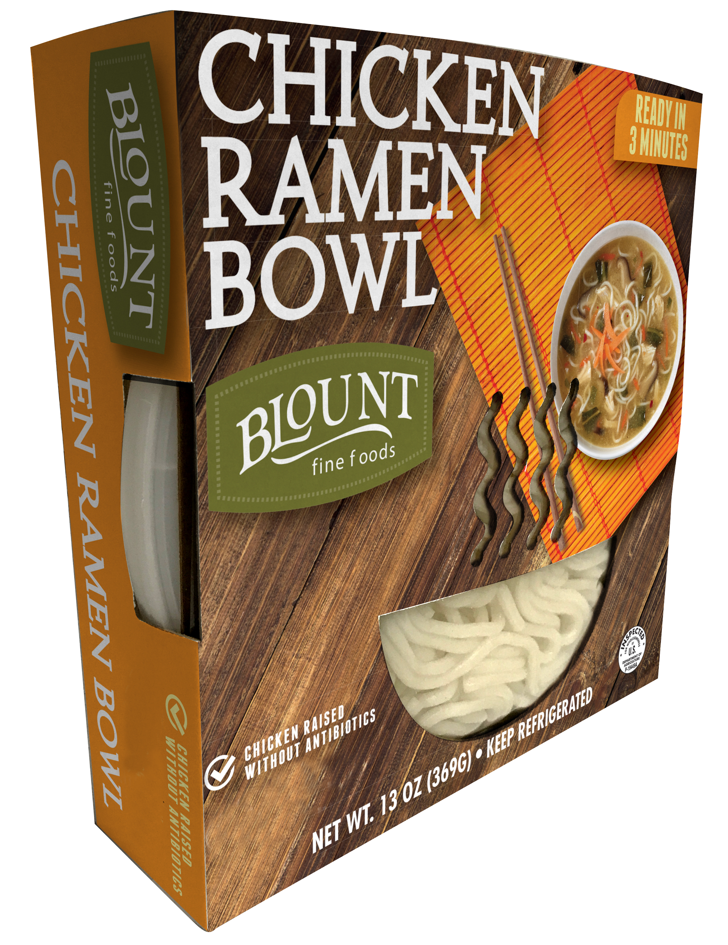 Blount chicken Ramen noodle bowl 12oz