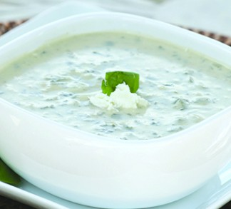Spinach & Feta Chowder
