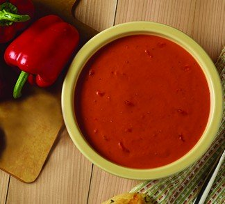 Organic Roasted Red Pepper & Tomato Soup
